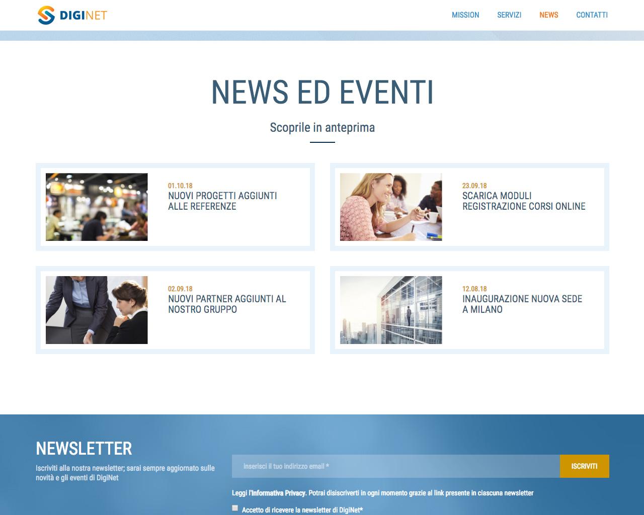 One Site - Sezione News ed Eventi sul tuo PC